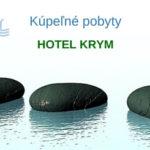 Kúpeľné pobyty – kúpeľný hotel Krym