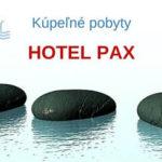 Kúpeľné pobyty  –  hotel PAX