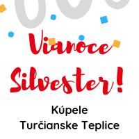 Silvester - kúpele Turčianske Teplice
